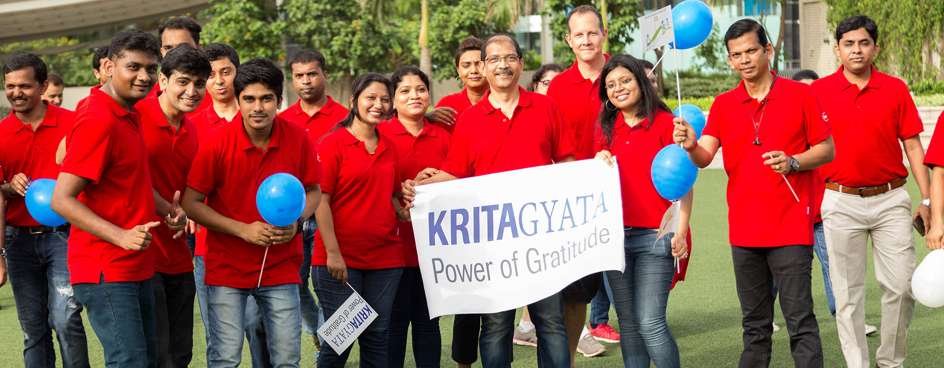 Kritagyata – Transforming the power of positivity